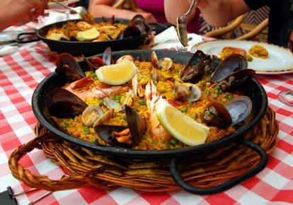 Spanische Küche - Paella