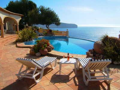 Ferienwohnung Spanien mit Meerblick